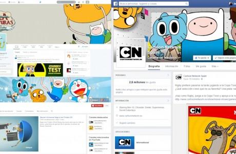"""Gestión del social media de <a href=""""http://www.cartoonnetwork.es/"""" target=""""_blank"""">Turner Broadcasting España</a>. Creamos todas las páginas y perfiles en sus inicios, fijando una estrategia, coadministrando, publicando contenidos y monitorizando resultados con detallados informes mensuales de evolución."""